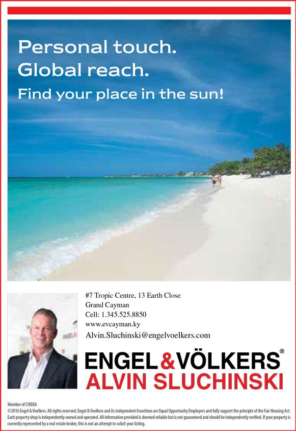 Engel volkers alvin sluchinski grand cayman magazine for Engel and volkers world
