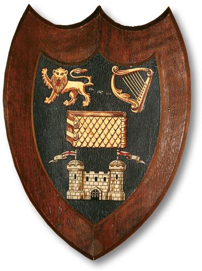 Trinity College Dublin shield