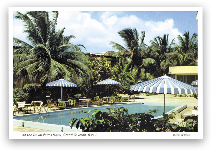 Old Royal Palms postcard