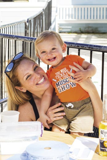 Heather and Gunner Ketterer, ARK fundraiser.